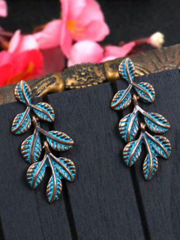 Vintage Bohemia Hollow Carving Hollow Earrings