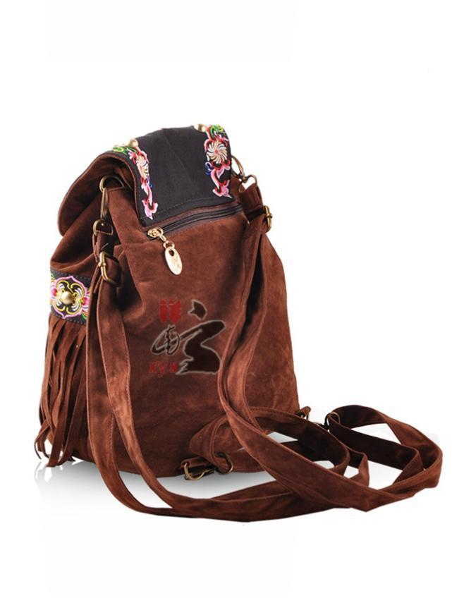 Fashion Ethnic-style Emboridery Tassels Bag Accessories