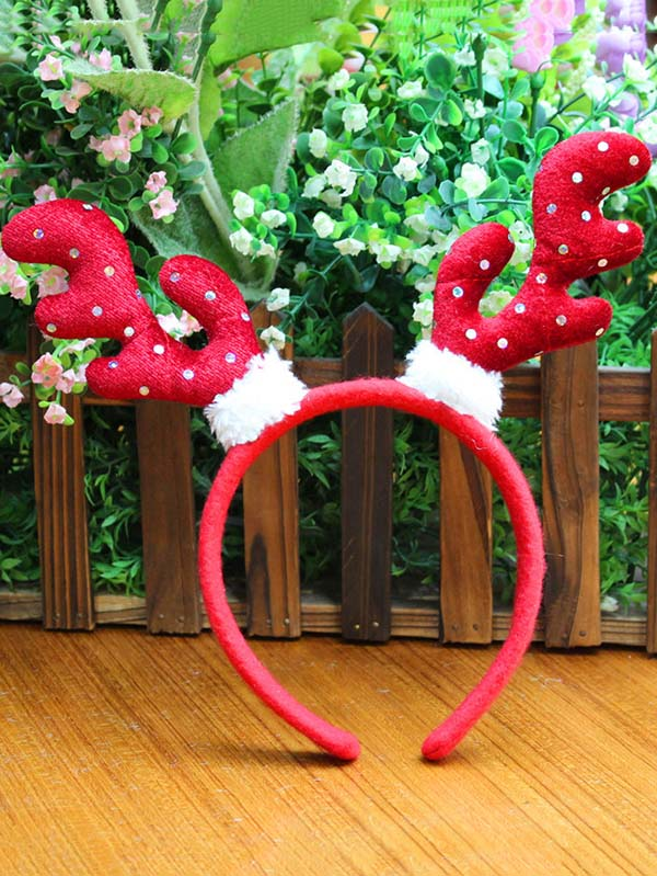 Christmas Hair Hoop Decoration