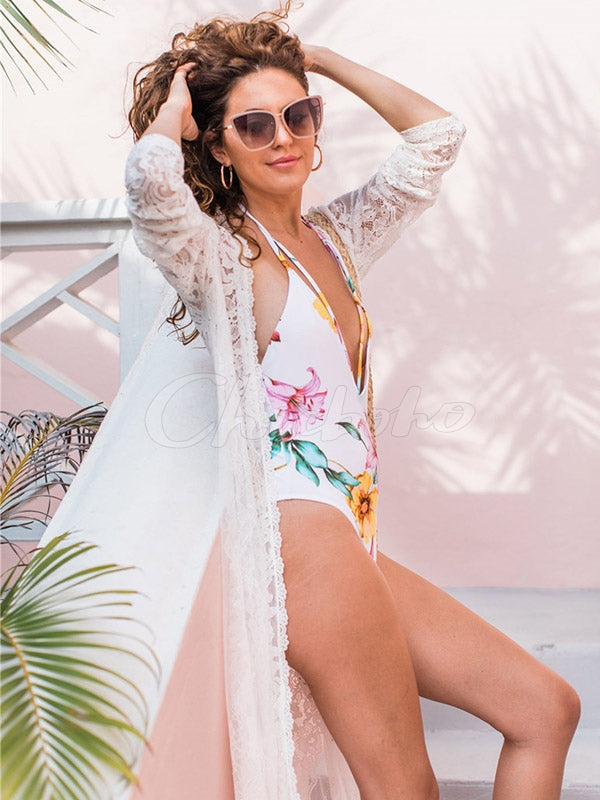 Lacy Sexy Loose Cover-Ups Swimwear