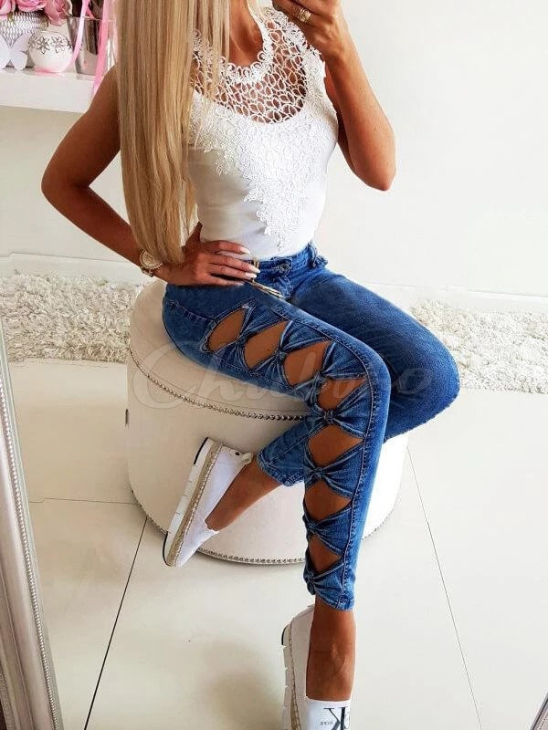 Sexy Hollow Fitness Jean Pants