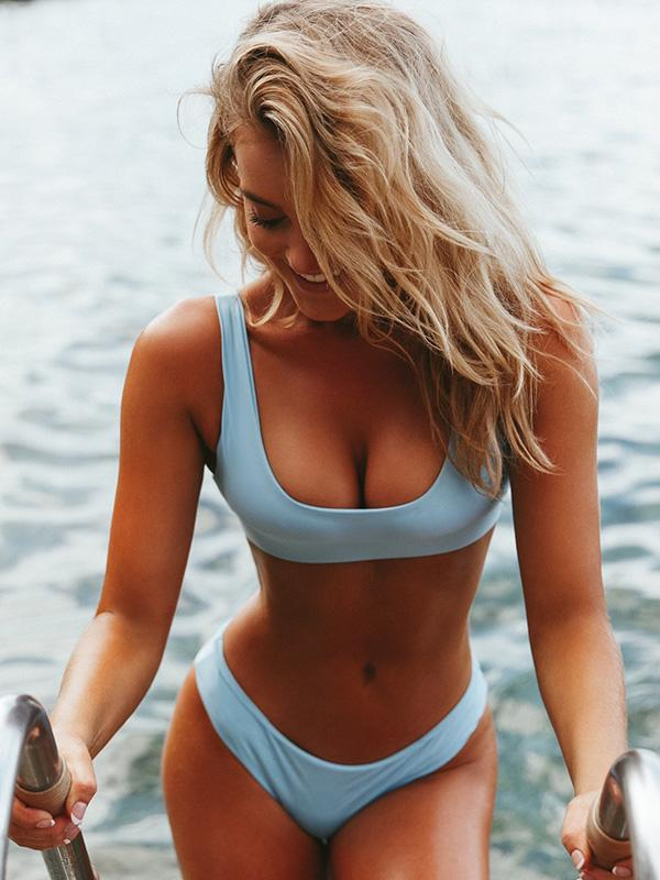 Plain & Printed Bikinis Swimwear