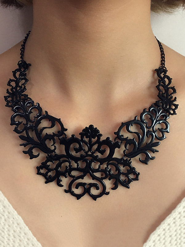 Vintage Bohemia Hollow Necklaces Accessories