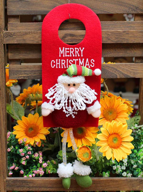 Christmas Grapheme Pendant Decoration