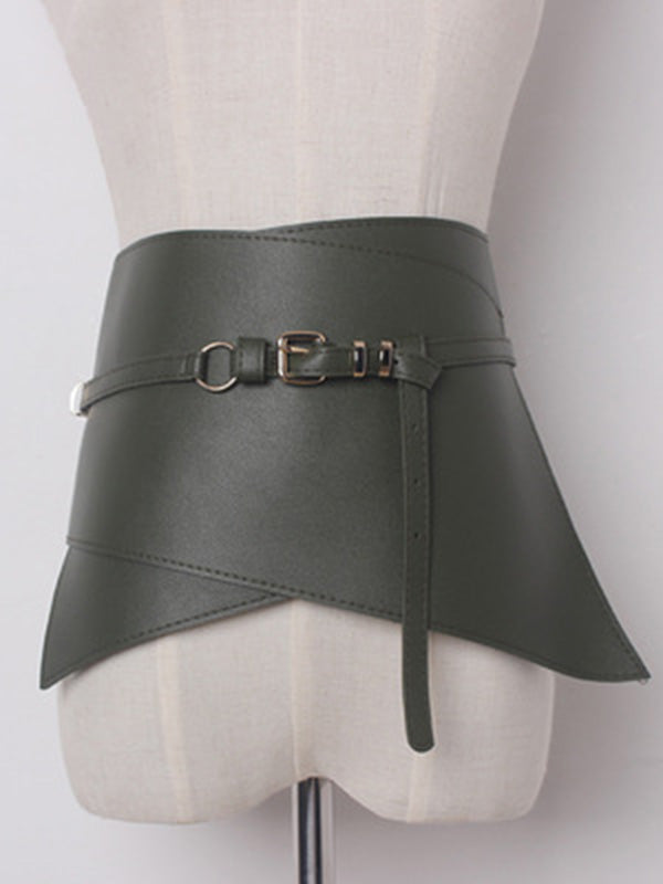 Fashionable 5 Colors Wide Belt Accessories