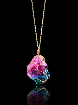 Colorful Sparkling Designed Necklace Accessories
