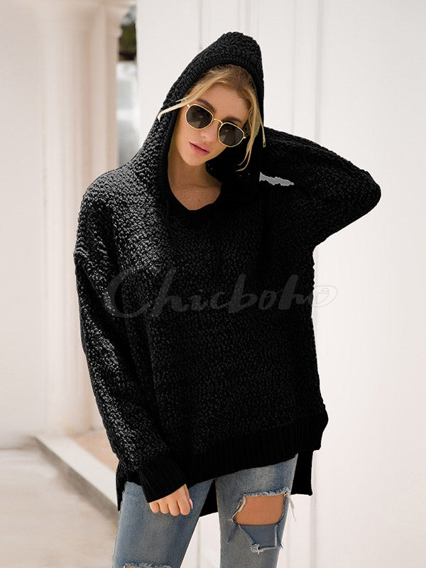 Loose Long Sleeve Hoodies