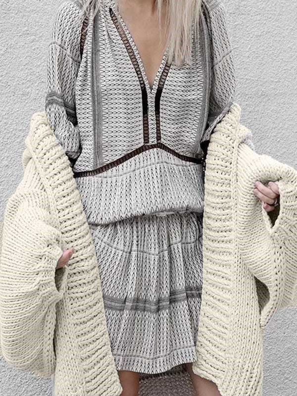 New Loose Knitting Outwear