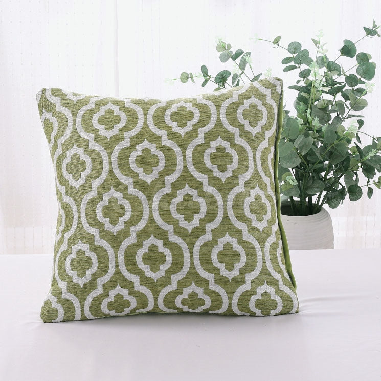 Multicolor Geometric Print Pillowcase