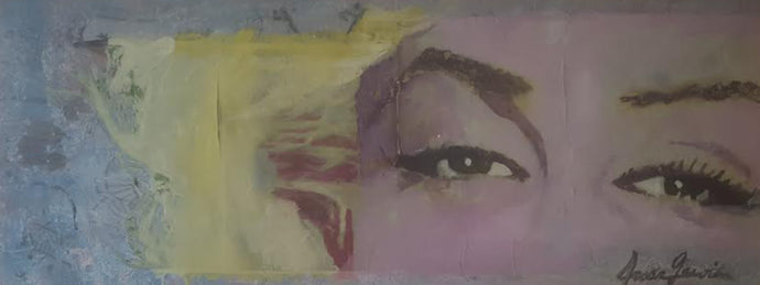 The Eyes of Marilyn Monroe 36' x 14'