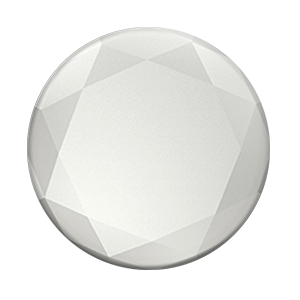 Silver Metallic Diamond, PopSockets