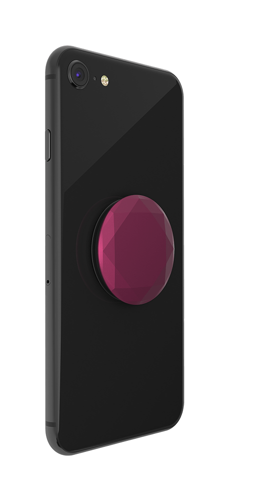 Metallic Diamond Plum Berry, PopSockets