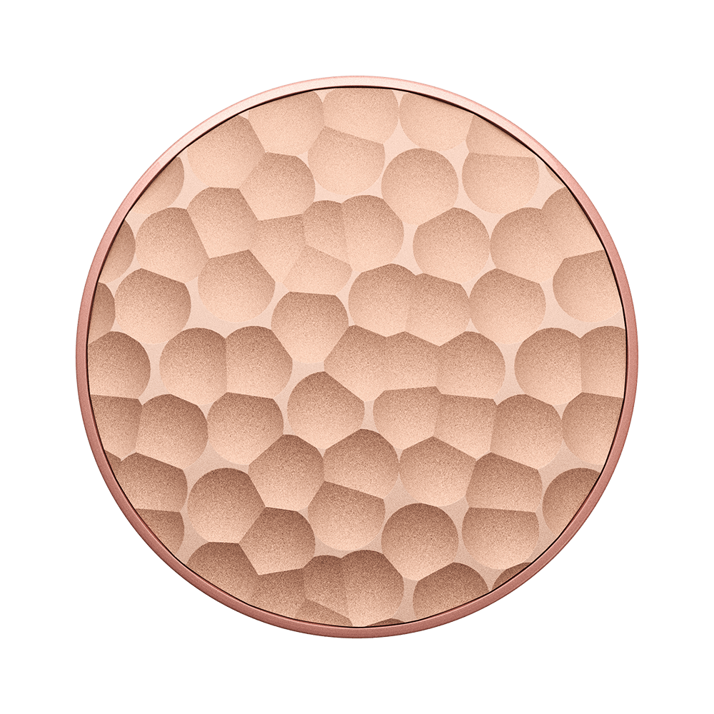 Hammered Metal Rose Gold SWAPPABLE