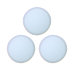 PopSockets PopMinis Color Chrome White, PopSockets