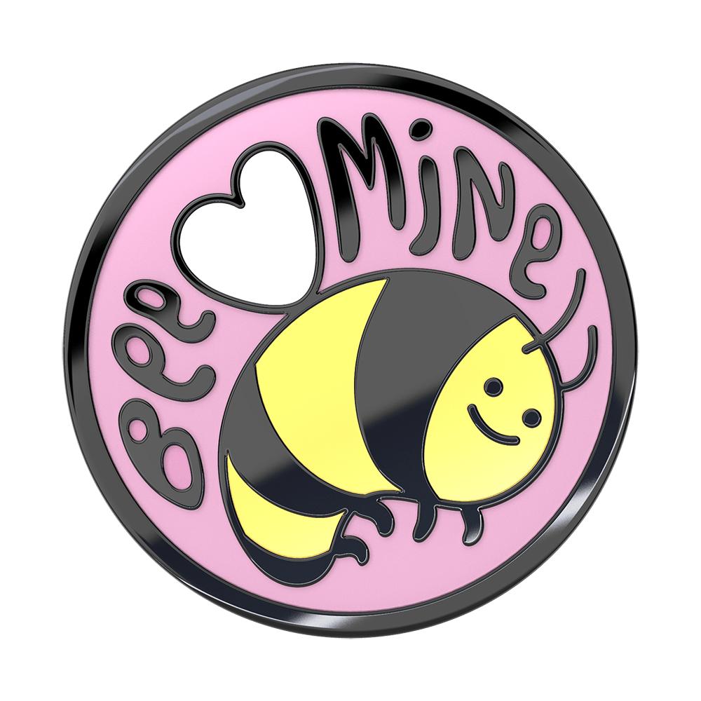 Bee Mine Enamel, PopSockets