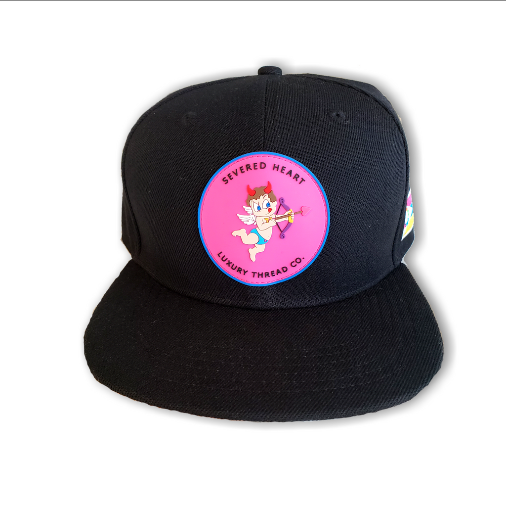 """Mischievous Cupid"" Snap Back Baseball Cap"