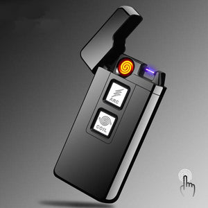 Arc/Coil Touch Induction Windproof Electric Lighter  BabuBunny