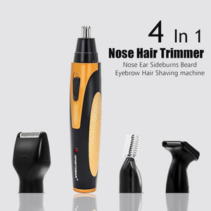4 in 1 Electric Nose Hair Trimmer  BabuBunny
