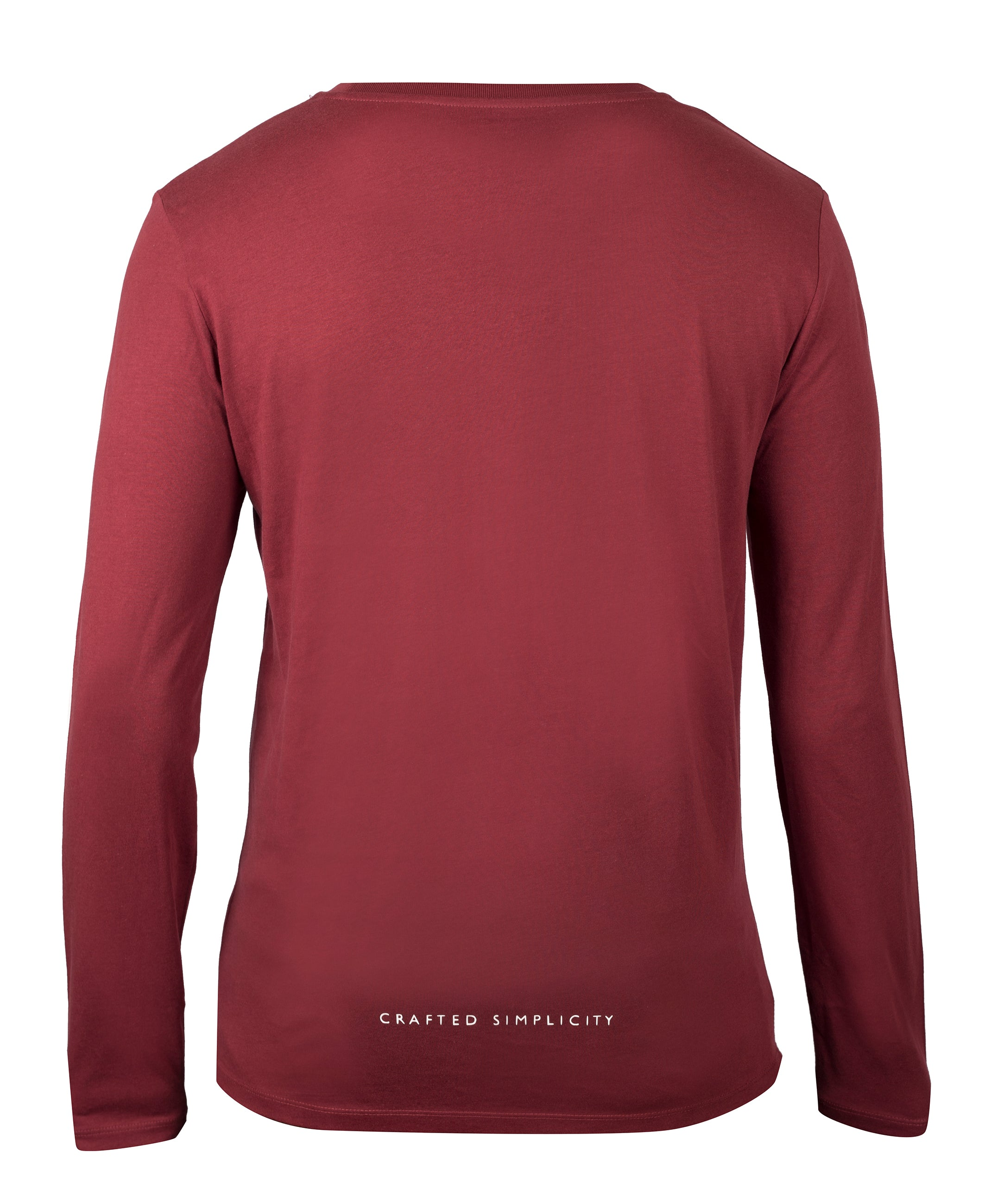 Classic Long Sleeve (Burgundy)