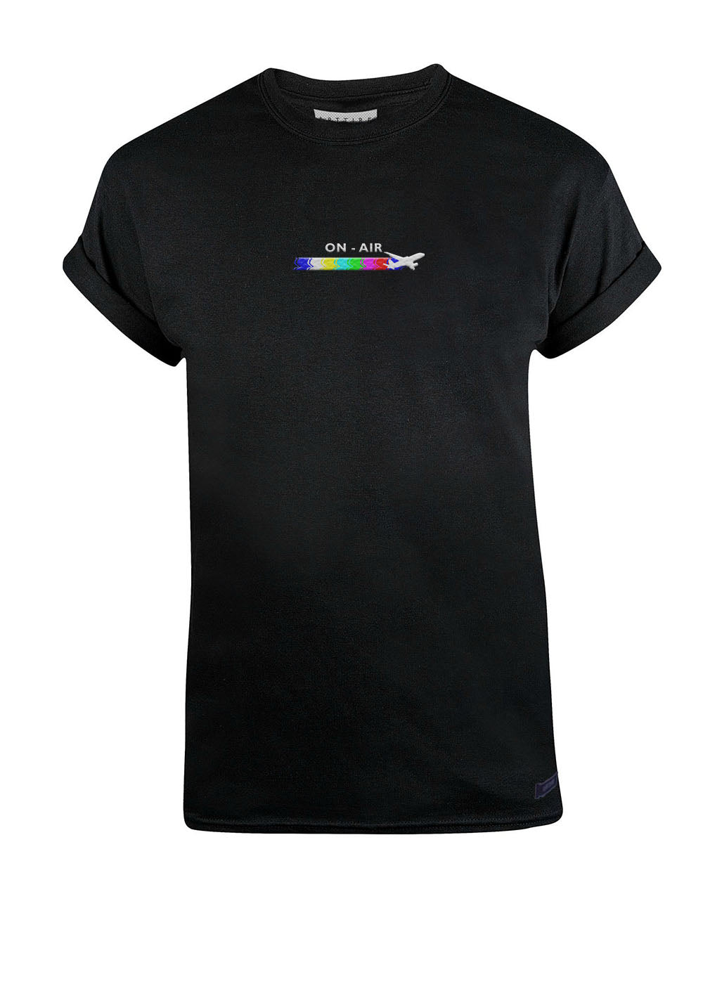 Black Take Off Tee