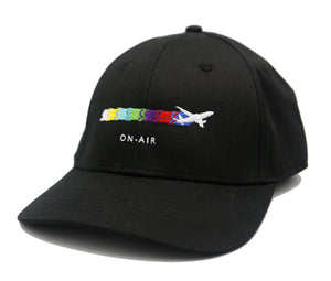 Black Take-Off Baseball Cap