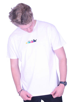 White High Fly Tee
