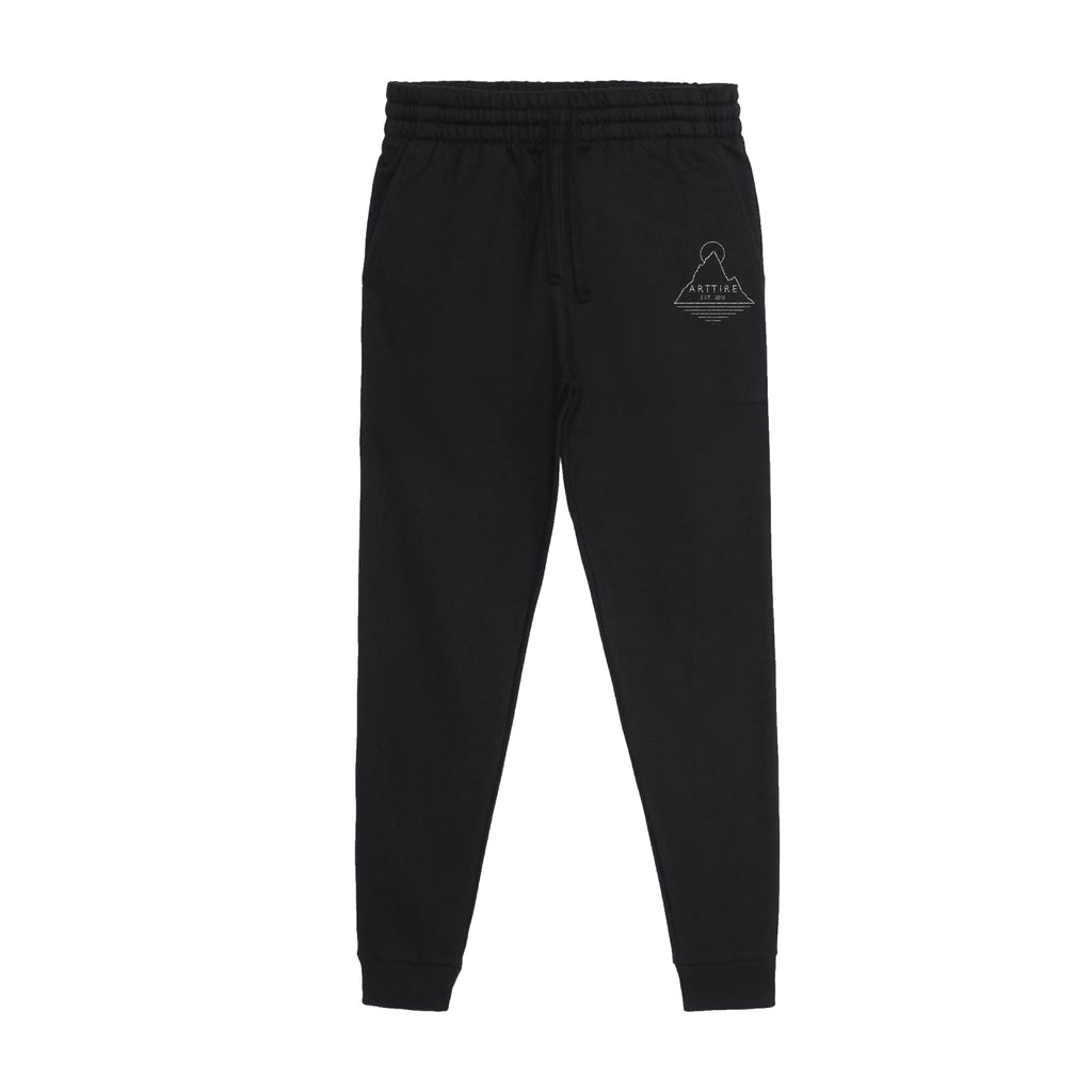 Black Off-Peak Joggers