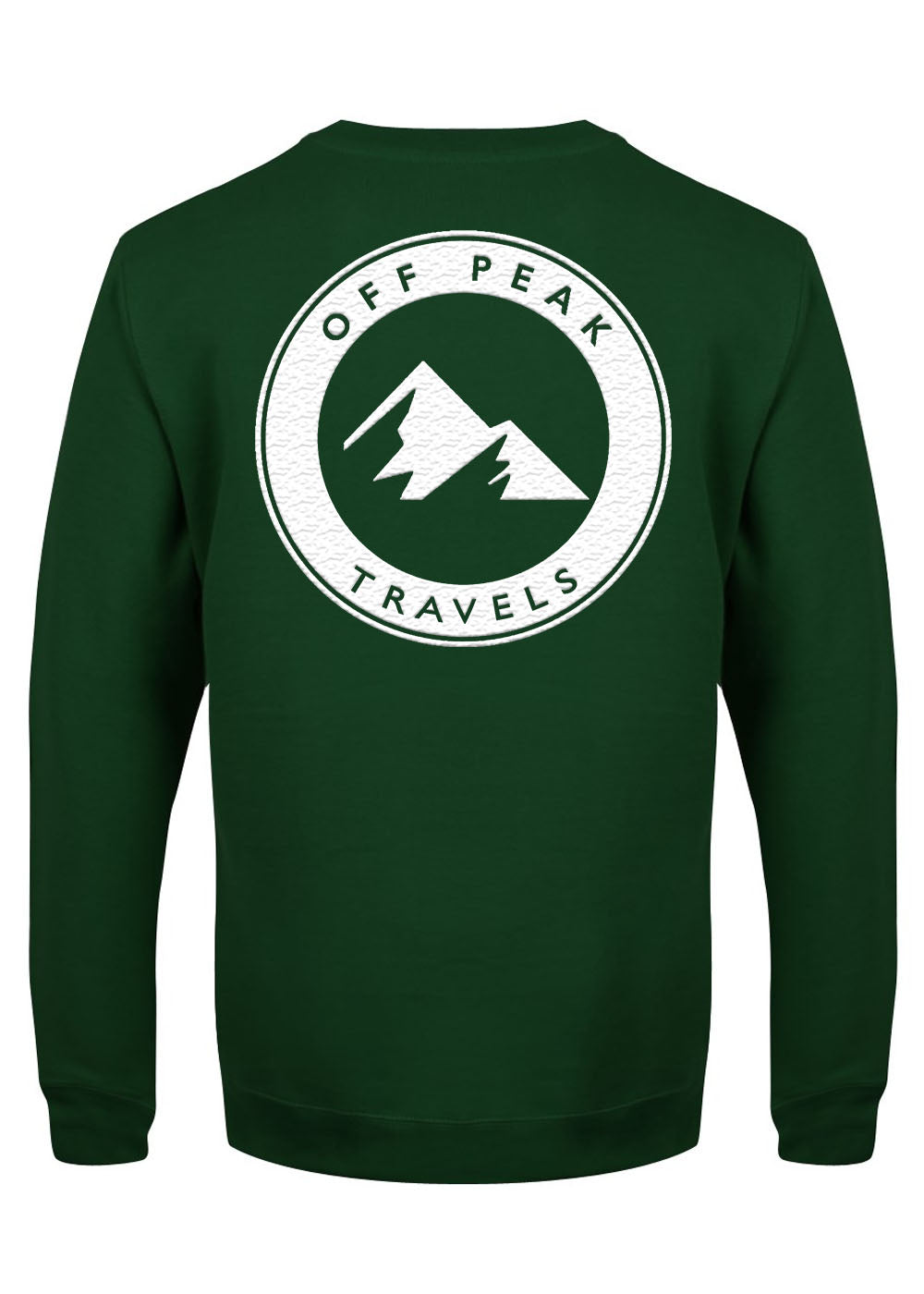 Green Backprint Sweat
