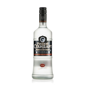 In a land where Vodka is as much a religion as it is a spirit, the relatively young Russian Standard has become one of the country's leaders. Following Dmitri Mendeleev's tried and trusted formula, which was commissioned by Tsar Alexander III in the late 19th century, it combines traditional winter wheat with the soft sub-zero glacial water from Lake Ladoga. Great served neat and ice cold, I also serve Russian Standard in virtually every Vodka based cocktail, especially in a Bloody Mary.