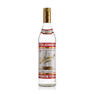 "<p style=""text-align: justify;"">Four time filtered through quartz, sand, charcoal and woven cloth, <a title=""Stolichnaya"" href=""/spirits/brand/stolichnaya.html"" target=""_self"">Stolichnaya</a> is then blended with natural spring water from the Latvian Balzams wells.</p>"