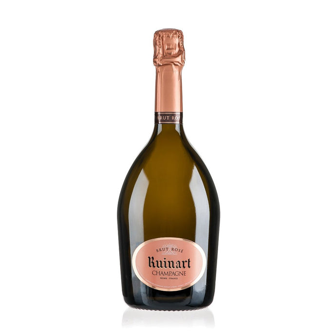 <p>Full of ripened fruit flavours including cherry, raspberry and strawberry, it&rsquo;s the light and spicy notes at the finish that really make this Ruinart Rosé so special.</p> <p>It's fruity and subtle enough to go with just about everything, but I think it's best served alongside fresh Carpaccio di Manzo, rocket and parmesan shavings.</p> hampagne.</p> <p> </p>