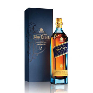 Blue Label is a commemoration to Johnnie Walker's father, Alexander Walker's 1867 Old Highland Whisky. Master Blender, Jim Beveridge has combined rare whiskies from all over Scotland which have been matured in rare casks to produce Blue Label. Look out for the taste of honey and fruit as well as the unmistakable aroma of smoke which makes this one of Johnnie Walker's very best. Drink sparingly with a dash of cold water. Please note, Johnnie Walker's Blue Label comes in an elegant presentation box.