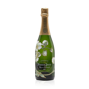 """Crystalline & full-bodied - the perfect expression of the Perrier-Jouët style"" This refined wine is the fruit of a very mild winter and an exceptional spring. It's a light gold with bright clarity and fine, vibrant bubbles, and has fragrant scents of magnolia, honeysuckle and citrus (bergamot, orange, lemon peel), balanced with fruity aromas of pear and peach, and a touch of minerality. Bold flavours are followed by a lovely crystalline freshness, with white fruit flavours and notes of almond."