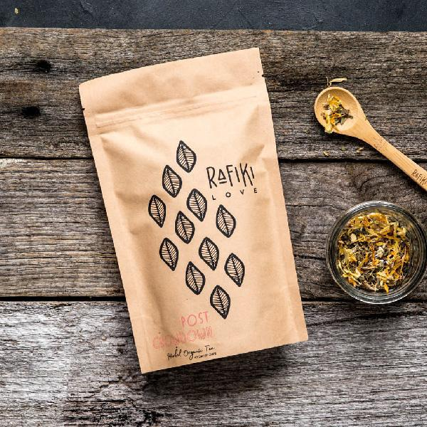 Organic post chow down herbal tea perfect for getting rid of bloating and inflammation. Bowel antiinflammatory natural vegan organic herbal tea. No more bloating natural remedy. Australian Victorian vegan organic herbal tea product.