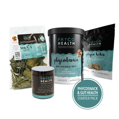 Gluten Free Seaweed Snack & Supplements, 4 item Starter Pack