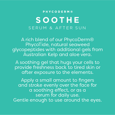 NEW - PhycoDerm SOOTHE|seaweed glycopeptide and aloe gel