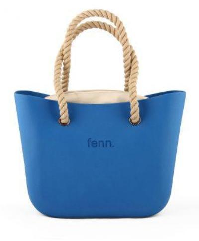 Original BLUE with beige canvas inner and rope handles