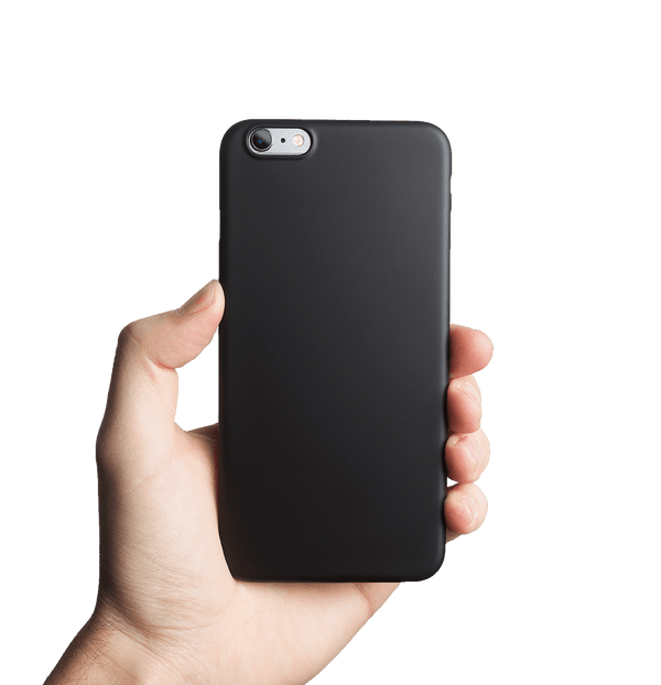Ultra tyndt iPhone 6s Plus cover - Solid black