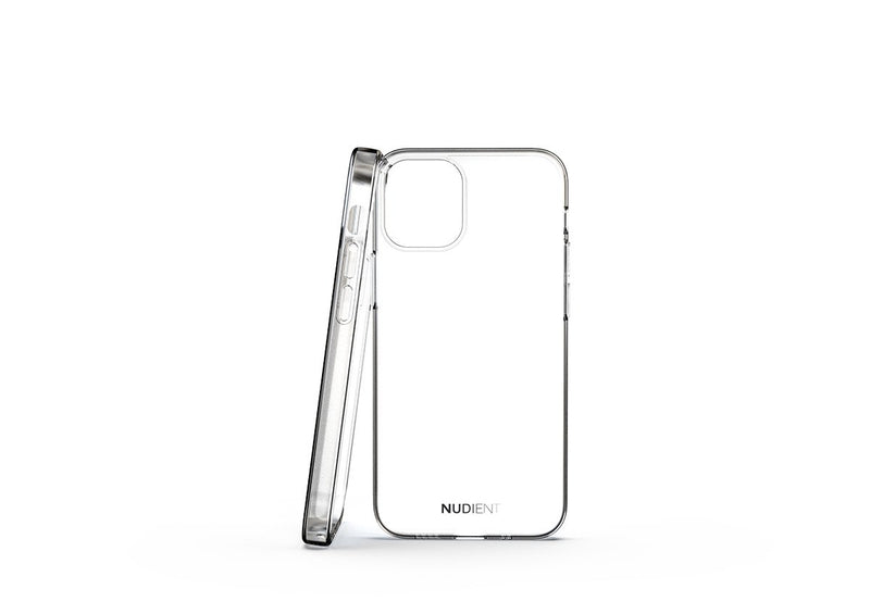 Nudient - Tyndt blankt iPhone 12 Mini Cover - 100% transparent
