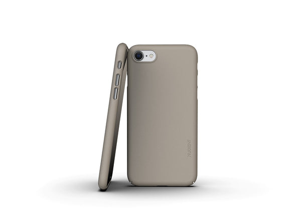 Nudient - Tyndt iPhone 7/8/SE Cover V3 - Clay Beige