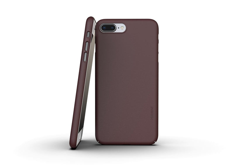 Nudient - Tyndt iPhone 7/8 Plus Cover V3 - Sangria Red