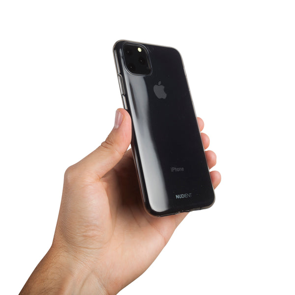 Tyndt blankt iPhone 11 Pro Max 6,5 cover - Black Transparent