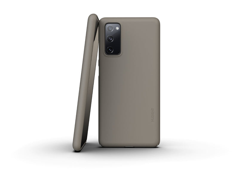 Nudient - Tyndt Samsung S20 FE Cover V3 - Clay Beige