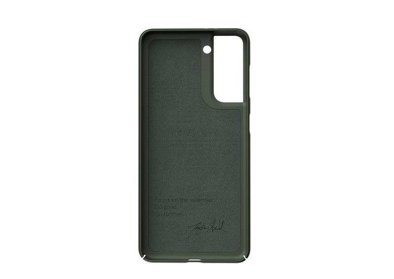 Nudient - Tyndt Samsung S21 Cover V3 - Pine Green