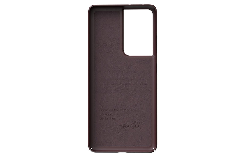 Nudient - Tyndt Samsung S21 Ultra Cover V3 - Sangria Red