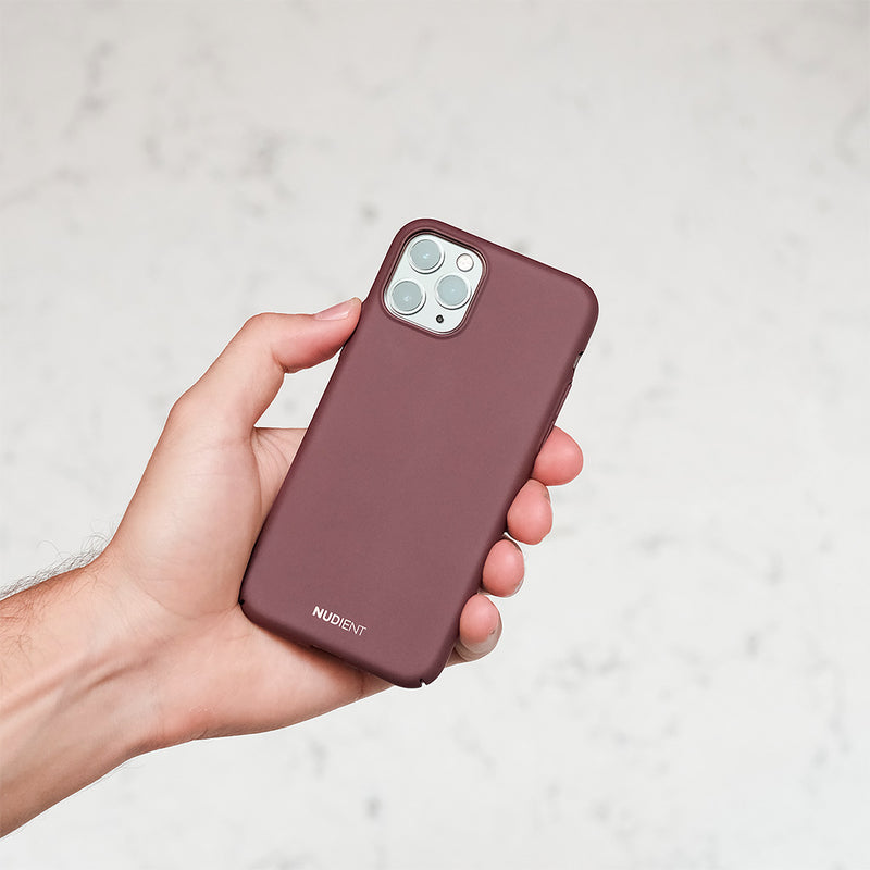 Tyndt iPhone 11 Pro Max 6,5 Cover V2 - Sangria Red