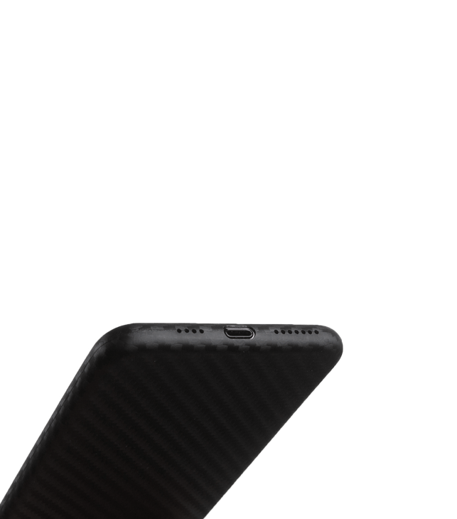 Ultra tyndt iPhone XS Max 6,5 cover - Carbon edition