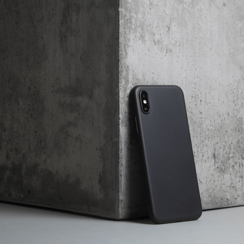 Ultra tyndt iPhone XS Max 6,5 cover  - Solid black
