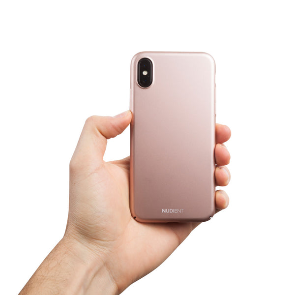 Tyndt iPhone X Cover V2 Cover - Classy Rosé
