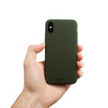 Tyndt iPhone X Cover V2  - Majestic Green